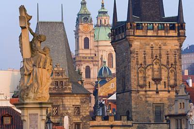 Charles Bridge, Prague, Czech Republic Art Print