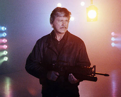 Photograph - Charles Bronson In Death Wish 4: The Crackdown  by Silver Screen