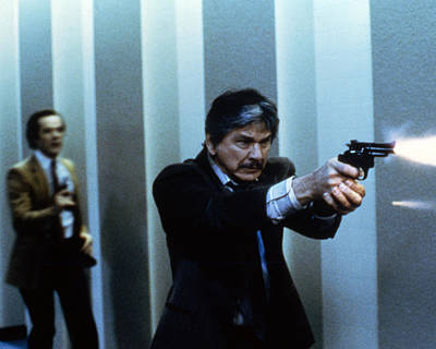 Charles Bronson Photograph - Charles Bronson In Murphy's Law  by Silver Screen