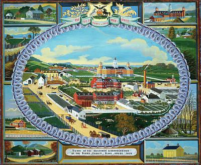 Charles C. Hofmann, Berks County Almshouse Art Print by Litz Collection