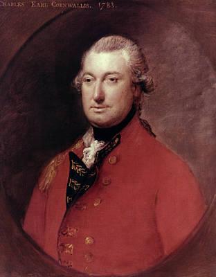 Redcoats Painting - Charles Cornwallis (1738-1805) by Granger