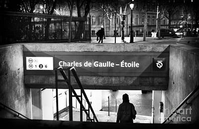 Photograph - Charles De Gaulle-etoile by John Rizzuto