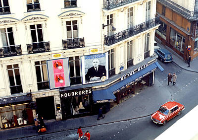 Photograph - Charles De Gaulle - Paris 1966 by Robert  Rodvik