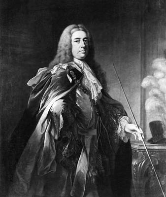 Grafton Painting - Charles Fitzroy (1683-1757) by Granger