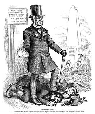 Charles Francis Adams (1807-1886) Art Print