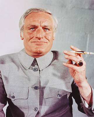 Forever Photograph - Charles Gray In Diamonds Are Forever  by Silver Screen