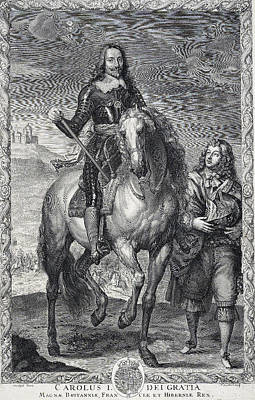 Rights Of Man Photograph - Charles I, King Of England by Folger Shakespeare Library