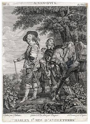 Charles I Of England          Date 1600 Art Print by Mary Evans Picture Library