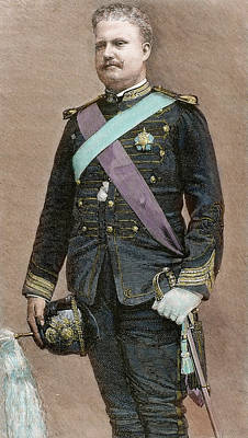 Saxe Photograph - Charles I Of Portugal (1863-1908 by Prisma Archivo