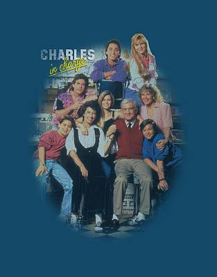 Charles Digital Art - Charles In Charge - Cast Distressed by Brand A