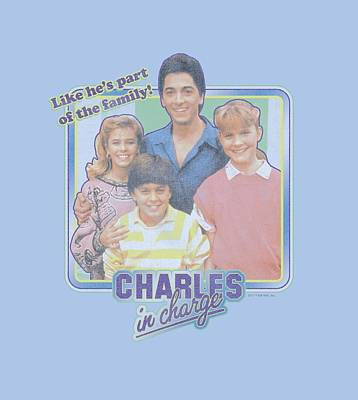 Charles Digital Art - Charles In Charge - Part Of The Family by Brand A
