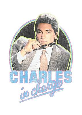 Charles Digital Art - Charles In Charge - Suave by Brand A