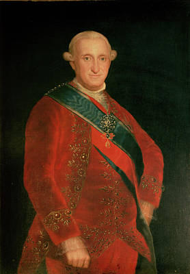 1819 Photograph - Charles Iv by Francisco Jose de Goya y Lucientes