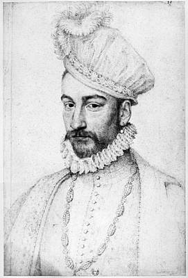 Ruff Drawing - Charles Ix Of France (1550-1574) by Granger