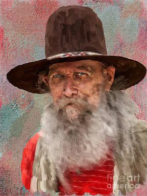 Digital Art - Charles by Jack Milchanowski