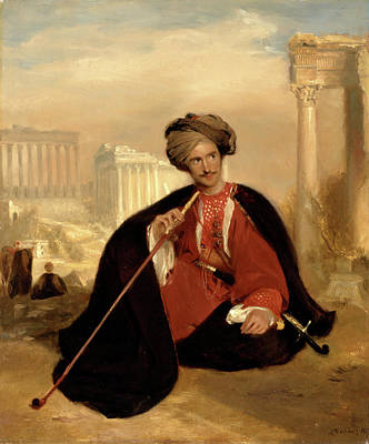Lennox Painting - Charles Lenox Cumming-bruce In Turkish Dress Charles Lennox by Litz Collection