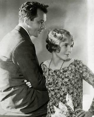 Actress Photograph - Charles Macarthur And Helen Hayes by Edward Steichen