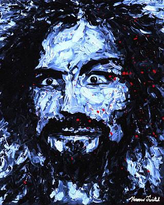 Charles Manson Impressionism Original