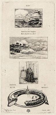 Charles Meryon French, 1821 - 1868. Rebus No Art Print by Litz Collection