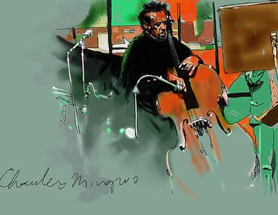 Charles Mingus Original by Frans Mandigers