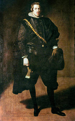 Gold Chain Painting - Charles Of Austria (1607-1632) by Granger