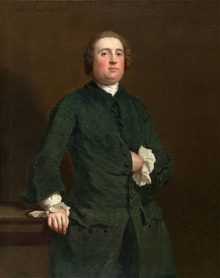 1743 Painting - Charles Penruddocke Inscribed In Black Paint by Litz Collection