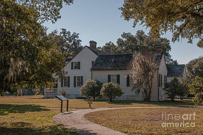 Photograph - Charles Pinckney Home Place by Dale Powell