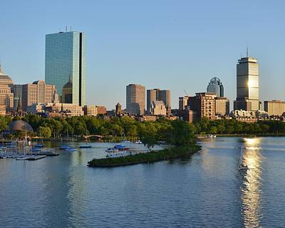 Photograph - Charles River Reflection by Toby McGuire