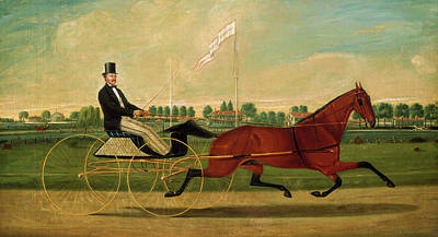 Humphrey Painting - Charles S. Humphreys, The Trotter, American by Quint Lox