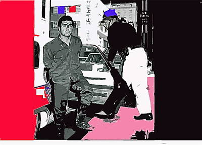 Charles Schmid Arrested  Tucson Arizona C.1965-2013  Art Print