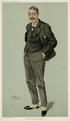 Stanford Drawing - Charles Villiers Stanford (1852 - by Mary Evans Picture Library