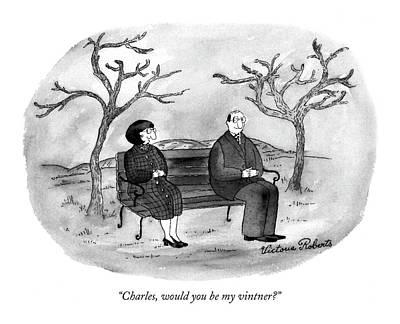 Charles, Would You Be My Vintner? Art Print