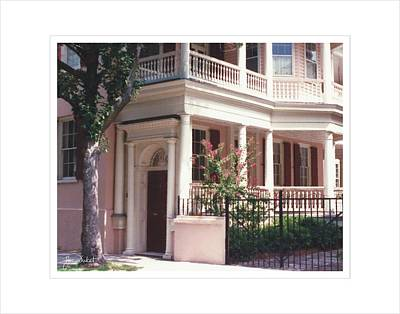 Charleston Architecture 4 Art Print