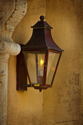 Photograph - Charleston Carriage Light by Bill Barber