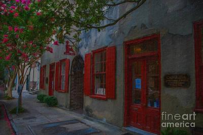 Digital Art - Charleston Catfish Row by Dale Powell