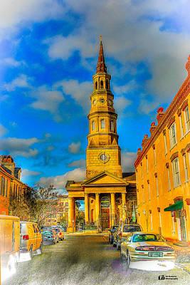 Photograph - St. Philip's Episcopal Church Charleston Sc by Ed Roberts