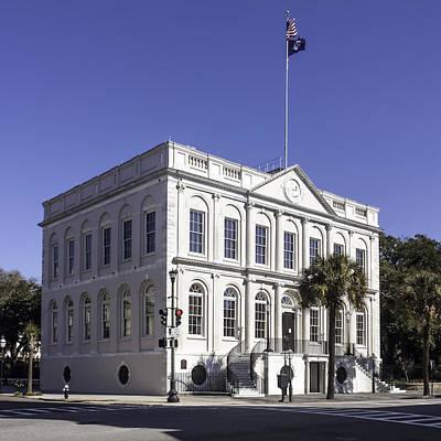 Charleston City Hall Print by Lynn Palmer