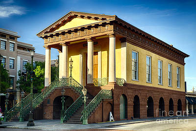 Confederate Museum In Charleston Art Print