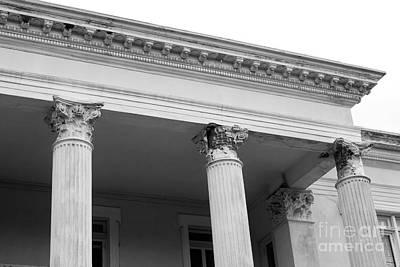 Charleston Photograph - Charleston Columns by Manda Renee