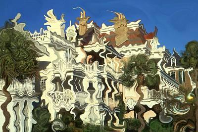 Painting - Charleston Comfort - Modern Art by Art America Gallery Peter Potter