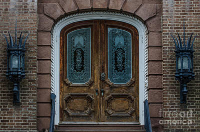 Photograph - Charleston Doors by Dale Powell