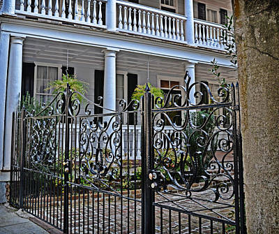 Photograph - Charleston Fence by Linda Brown