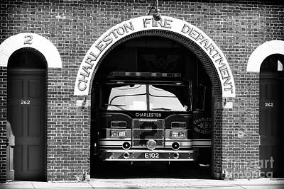 Photograph - Charleston Fire Department by John Rizzuto
