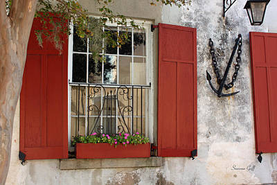 Charleston French Quarter II Art Print