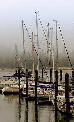 Photograph - Charleston Harbor Masts by Katie Wing Vigil