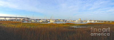 Photograph - Charleston Harbor Panorama by M West