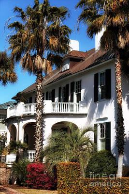 Old School House Photograph - Charleston Living by John Rizzuto