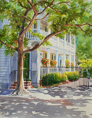 Streetscenes Painting - Charleston Morning by Durinda Cheek