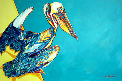 Charleston Pelican Original by Derrick Higgins