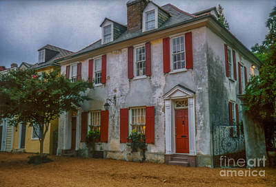 Story-1920s Photograph - Charleston Pirates House by Dale Powell